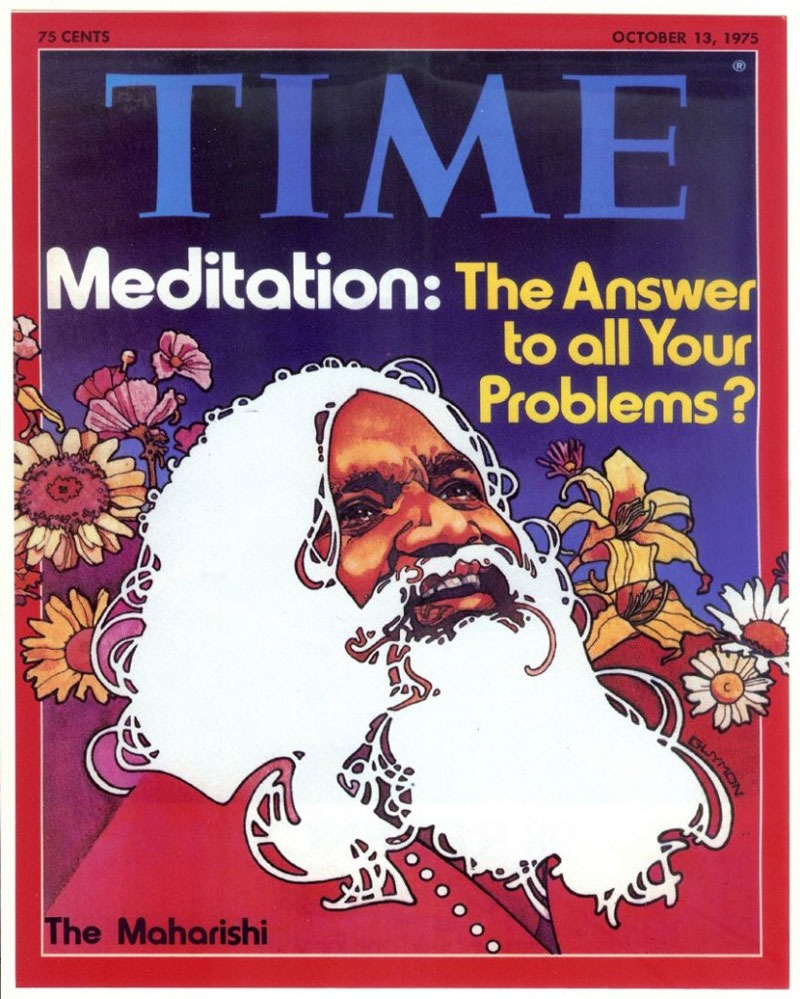 maharishi time magazine meditation