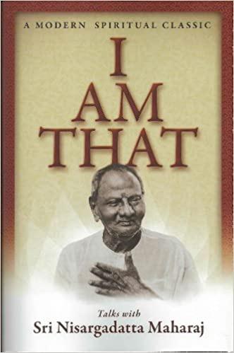 Nisargadatta Maharaj modern spiritual classic