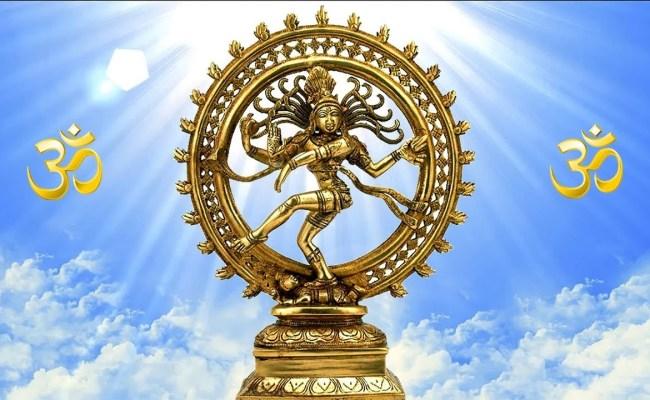 nataraja mantra statue