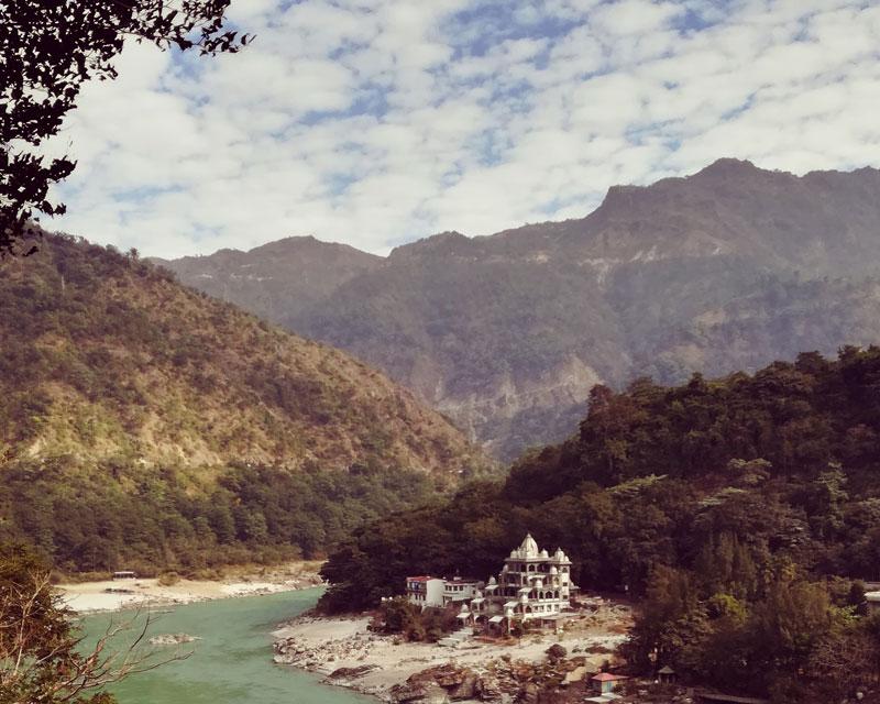 river ganges view ajantananda ashram