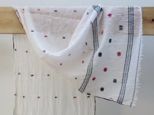 Floral Organic Cotton Scarf