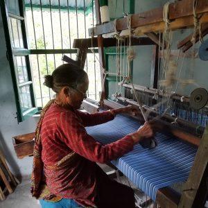 khadi cotton weaving