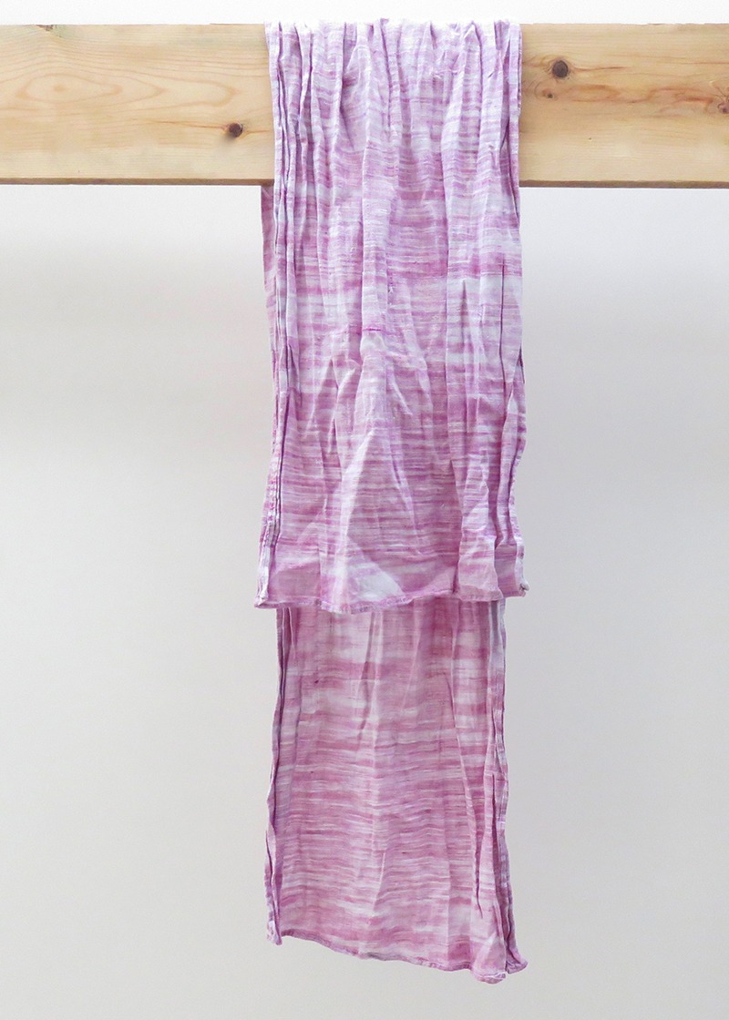 Pink Indian Cotton Scarf