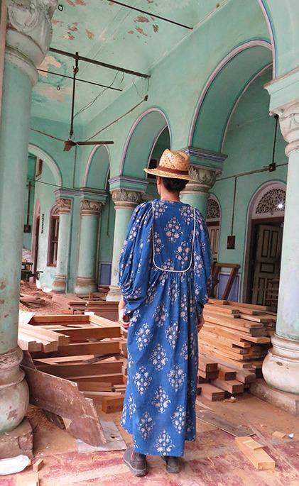asha indigo cotton dresses
