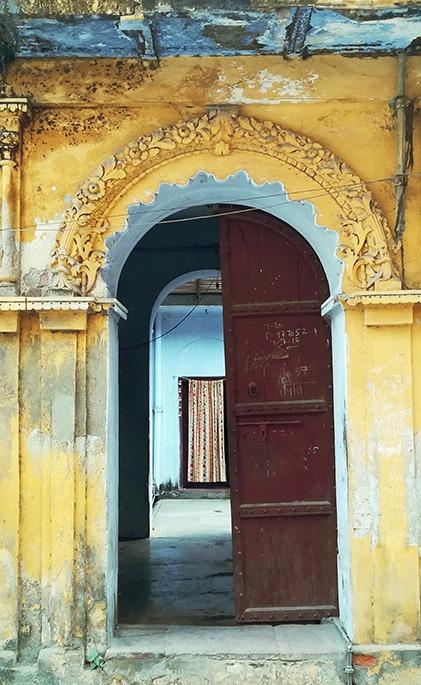 indian doorway