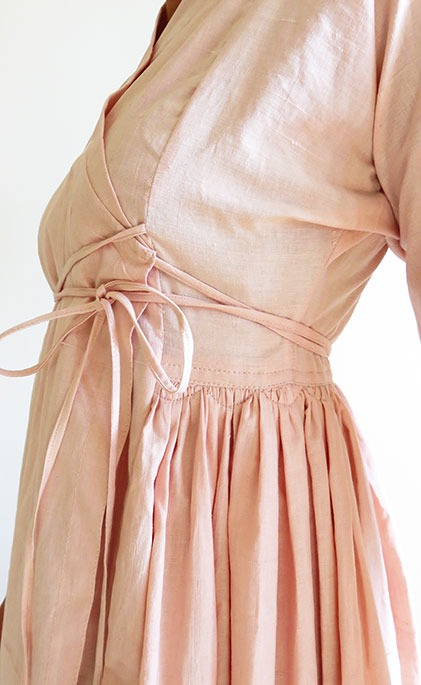 khadi cotton conscious dress