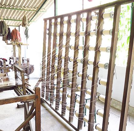 khadi cotton spindles
