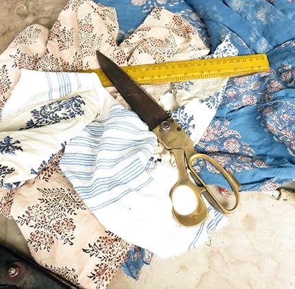 tailors fabric scissors