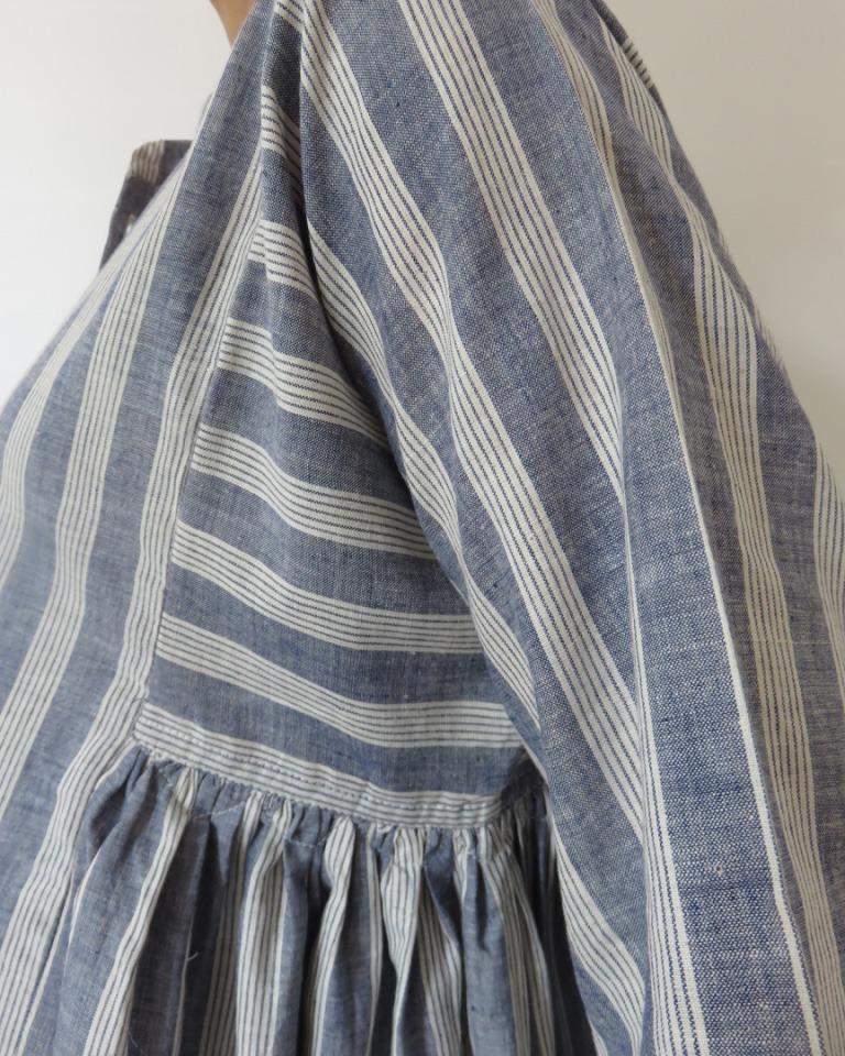 SHANTI BENGAL STRIPE SHIRT DRESS