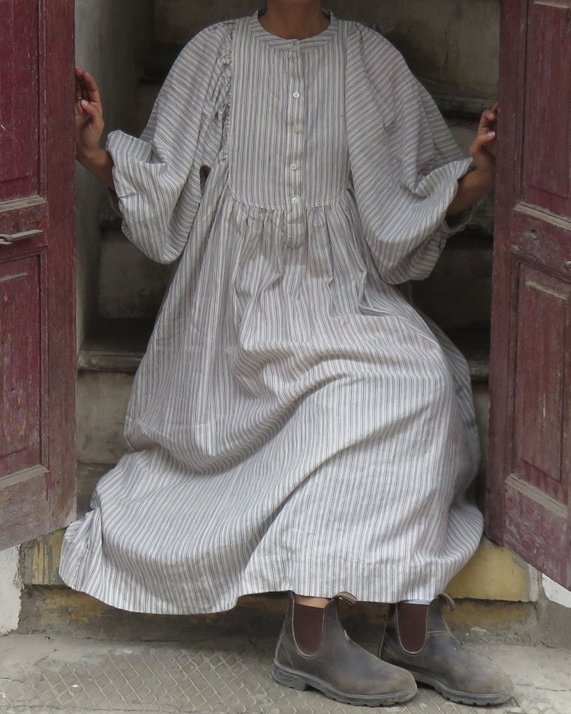 asha organic cotton dress
