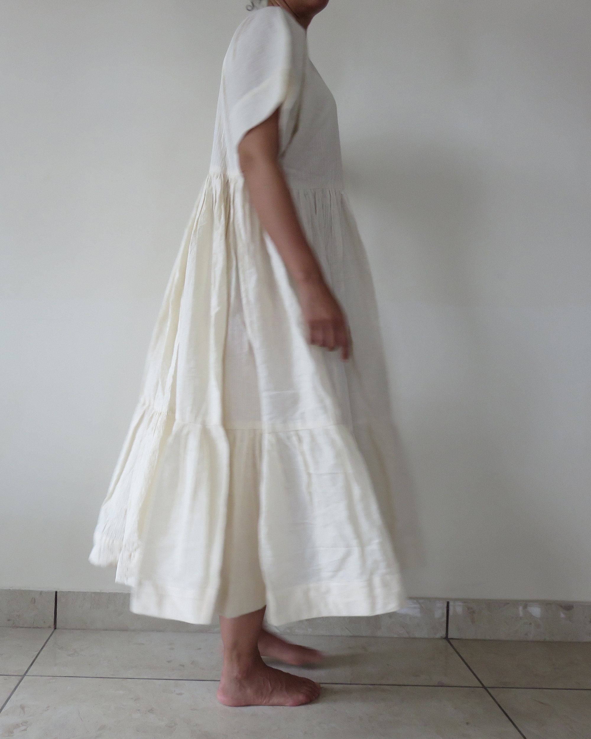 handwoven cotton dress anand